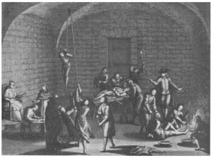An inquisition torture chamber